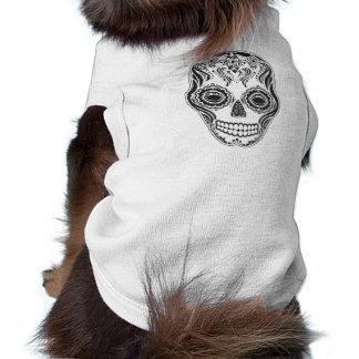 T-shirt Crâne de fille de Dia de los Muertos That
