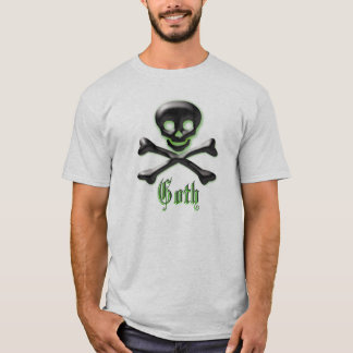 T-shirt Crâne de Goth