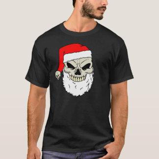 T-shirt Crâne de Père Noël