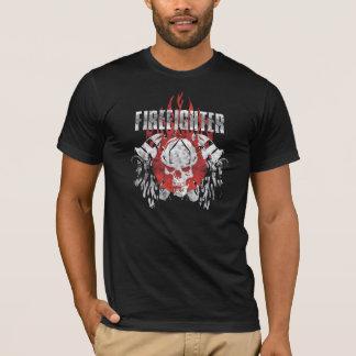 T-shirt Crâne de sapeur-pompier