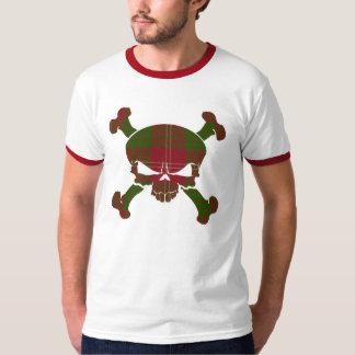 T-shirt Crâne de tartan de Crawford aucune chemise de