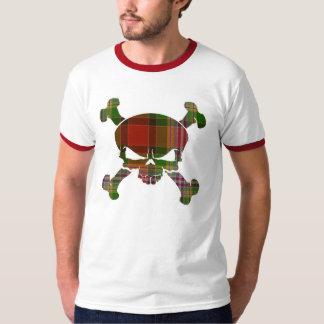T-shirt Crâne de tartan de Dundee aucune chemise de