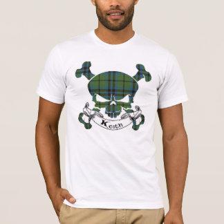 T-shirt Crâne de tartan de Keith