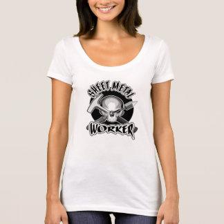 T-shirt Crâne de travailleur de tôle