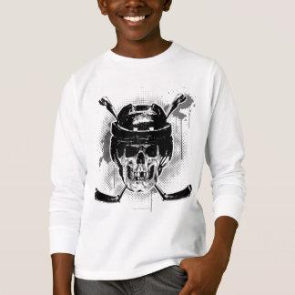 T-shirt Crâne d'hockey