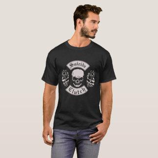T-shirt Crâne, embrayage de suicide, revolvers,