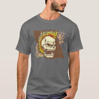 T-shirt crâne flamboyant de faucon