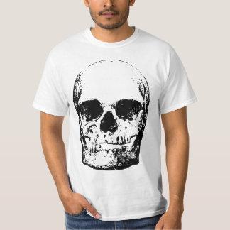 T-shirt Crâne noir et blanc