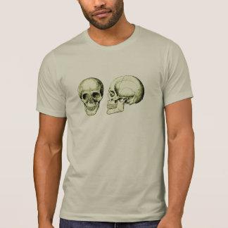 T-shirt Crâne pourpre d'humain de partie antérieure