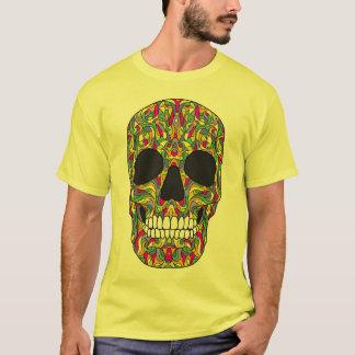 T-shirt Crâne psychédélique