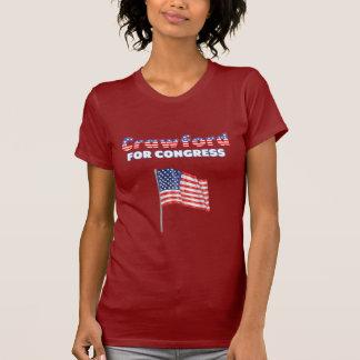 T-shirt Crawford pour le drapeau américain patriotique