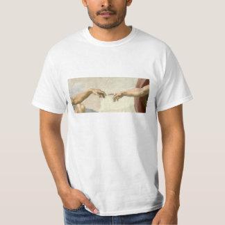 T-shirt Création des mains d'Adam - Michaël Angelo
