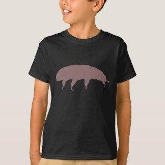 T-shirt Créature mignonne de silhouette Tardigrade d'ours
