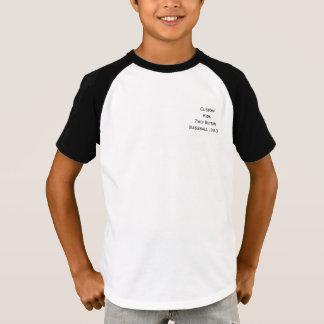 T-shirt Créez la pièce en t faite sur commande du