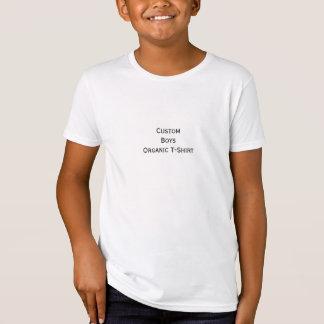 T-Shirt Créez la pièce en t fine organique de coton du