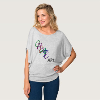 T-shirt Créez l'art