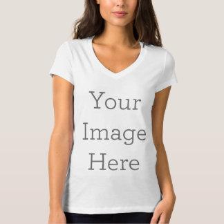 T-shirt Créez le V-Cou de vos propres femmes
