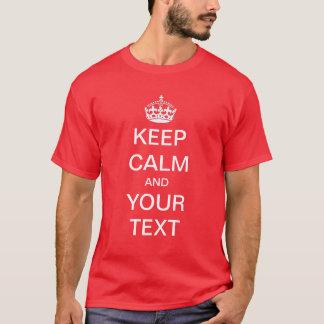 T-shirt Créez/personnaliser vos que propres gardent la