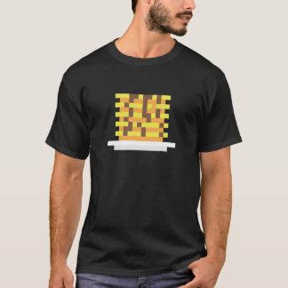 T-shirt Crêpes de petit déjeuner de pixel