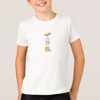 T-shirt Crêpes T original de lait de beurre