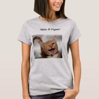 T-shirt Crêpes végétaliennes