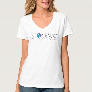 T-shirt Crescendo V - cou