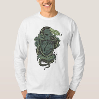 T-shirt Crête de Harry Potter   Slytherin