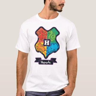 T-shirt Crête de Hogwarts de bande dessinée