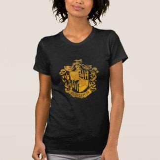 T-shirt Crête de Hufflepuff - éclaboussée