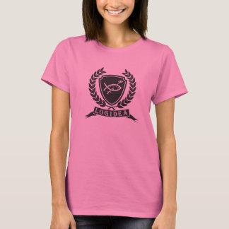 T-shirt Crête d'université de Logidea