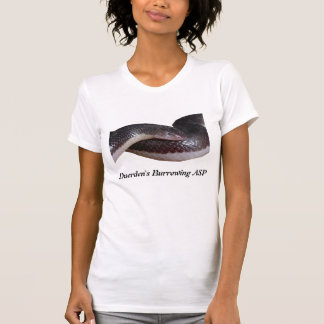 T-shirt creusant de dames de l'asp de Duerden