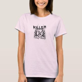T-shirt Crevette féerique de tueur (bébé rose de dames -