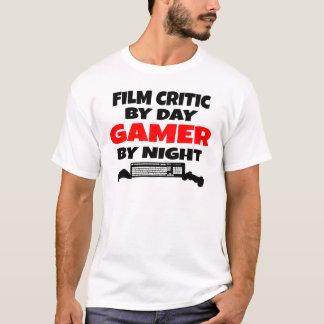 T-shirt Critique cinématographique de Gamer