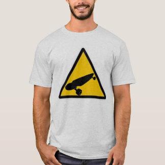 T-shirt Croisement de Longboard