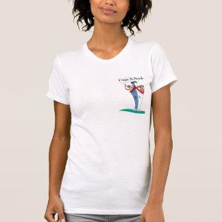 T-shirt Croisière aux dames T de nulle part