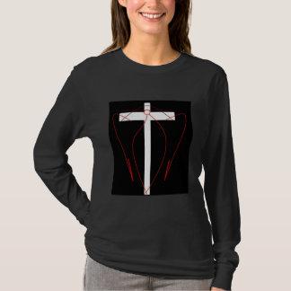 T-shirt Croix de l'ange de Shiva de cannelle dans