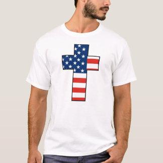 T-shirt Croix Etats-Unis