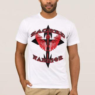 T-shirt Croix sacrée de héros de guerrier