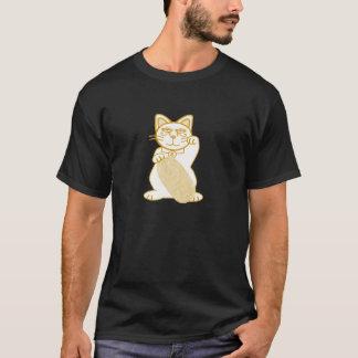 T-shirt Croquis de Maneki Neko d'or