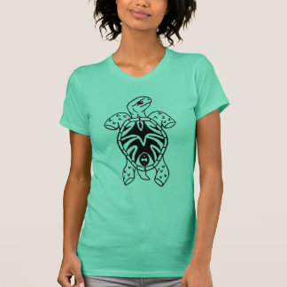 T-shirt croquis tribal de tortue