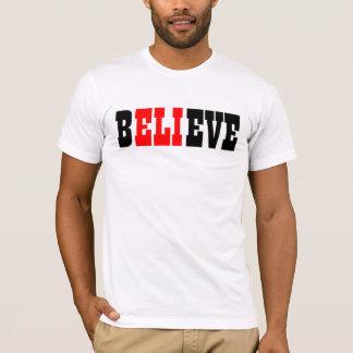 T-shirt croyez à l'eli
