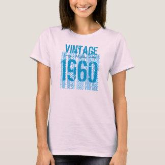 T-shirt Cru 1960 de cadeau d'anniversaire d'années '50 le