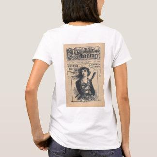 T-shirt Cru comique de dixième de dollar occidental de