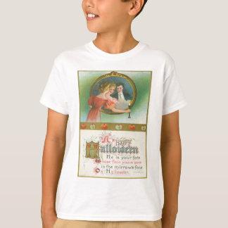 T-shirt Cru de divination de pommes de partie de Halloween