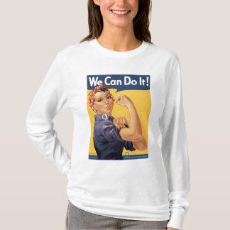 T-shirt Cru de la deuxième guerre mondiale nous pouvons