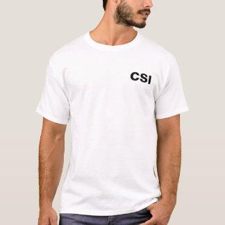 T-shirt CSI - photographe de scène du crime