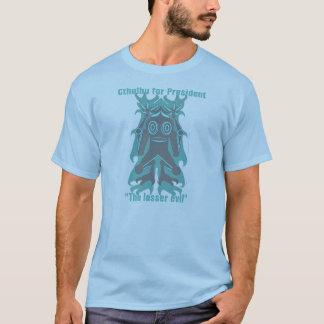 """T-shirt """"Cthulhu pour le président"""" chemise"""