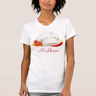 T-shirt Cuisinier gastronome personnalisé de cuisine de