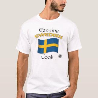 T-shirt Cuisinier véritable de Suédois