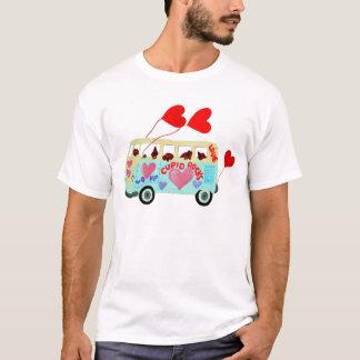 T-shirt Cupidons de teckel dans leur mobile d'amour de